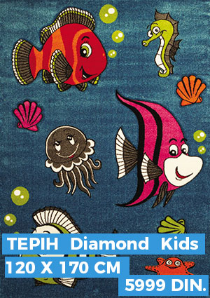 Deciji Tepih Diamond Kids