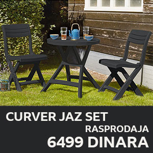 Garnitura Curver Jazz Set Akcija