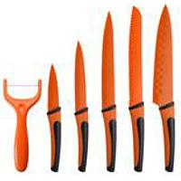 Bergner Nož set 6 kom Renberg Flash orange RB-2517-O - Kliknite za detalje