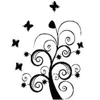 Zidni tatoo Dream Tree U06B 106x150cm 060606 - Kliknite za detalje