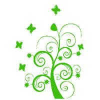 Zidni tatoo Dream Tree U06B 106x150cm 6CF73B - Kliknite za detalje