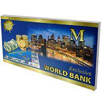 M Exclusive World Bank Monopol - Kliknite za detalje