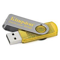 Kingston USB Flash Memorija DT101Y/8GB yellow - Kliknite za detalje