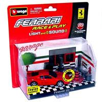 Autić set Bburago Ferrari Racing Light and Sound BU31110 - Kliknite za detalje