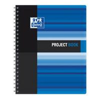 Sveska Oxford Student Project book 233x298mm kvadrati�i 06XS4 Blue - Kliknite za detalje