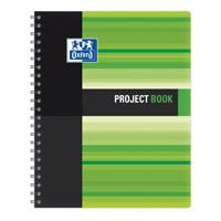 Sveska Oxford Student Project book 233x298mm kvadrati�i 06XS4 Green - Kliknite za detalje