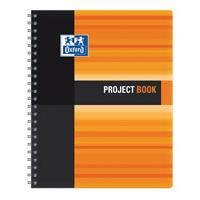 Sveska Oxford Student Project book 233x298mm kvadrati�i 06XS4 Orange - Kliknite za detalje