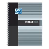 Sveska Oxford Student Project book 233x298mm kvadrati�i 06XS4 Grey - Kliknite za detalje