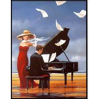Piano - Old Posters - 1210 - 40/50 HPLN
