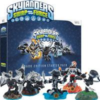 Wii Skylanders SWAP Force Dark Edition Collectors Starter Pack - Kliknite za detalje