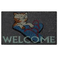 Otirač Fantasia 40 x 60 Cat Welcome - Kliknite za detalje