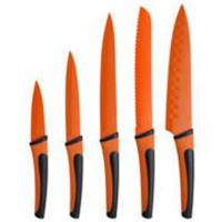 Bergner Nož set 5 kom Renberg Flash orange RB-2516-O - Kliknite za detalje
