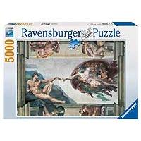 Ravensburger slagalica Michelangelo - Creation Of Adam 5000 delova 01-174089 - Kliknite za detalje