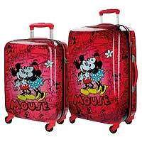 Disney Putni koferi - set - Mouse Retro Red - Kliknite za detalje