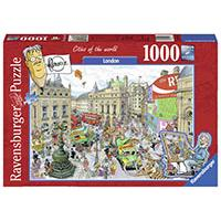 Ravensburger puzzle Cities of the world - London 1000 delova RA19928 - Kliknite za detalje