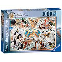 Ravensburger puzzle Ptice - Avian World No2 - Water Birds 1000 delova RA19649 - Kliknite za detalje