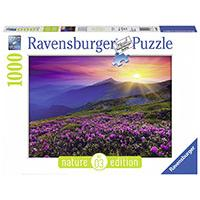 Ravensburger puzzle Nature Edition No3 - Early Morning Mountains 1000 delova RA19608 - Kliknite za detalje