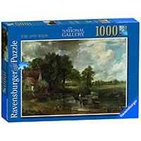Ravensburger puzzle Art - The National Gallery - Constable - The Haywain 1000 delova RA19593 - Kliknite za detalje