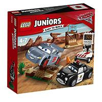 LEGO Juniors kocke Disney PIXAR Cars 3 - Willys Butte Speed Training - Vili Butov trening brzine   95 delova 10742 - Kliknite za detalje