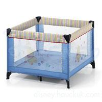 Hauck Disney prenosivi krevetac/ogradica Dream square patch Pooh light blue 606162 - Kliknite za detalje