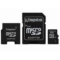 Kingston Micro SD kartica 4 GB sa 2 adaptera - Kliknite za detalje