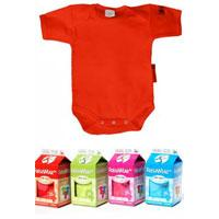 FreshWear Baby body Hot Red vel.74/80 160002 - Kliknite za detalje