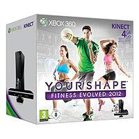 Xbox360 Slim 4 GB + Kinect + Your Shape Fitness Evolved 2012 - Kliknite za detalje