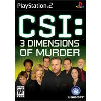 Igrica za Sony Playstation 2 PS2 CSI: 3 Dimensions of Murder - Kliknite za detalje