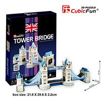 Tower Bridge Maketa 3D Puzzle - Kliknite za detalje