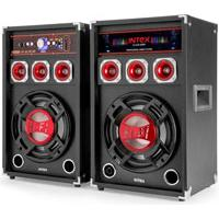 Intex Zvučnik DJ-215K Bluetooth SD/USB/FM/BT 22447 - Kliknite za detalje