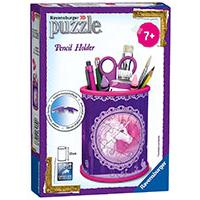 Ravensburger 3D puzzle GIRLY GIRL edition - Za devojčice - Kutija za olovke - Unicorns Pencil Holder 54 dela RA12103 - Kliknite za detalje