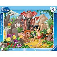 Ravensburger puzzle Dečije puzle - Disney - Jungle Book - Mowgli and Balu 30 delova RA06398 - Kliknite za detalje