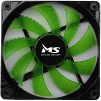 MS PC Cool 12cm Ventilator za kućište Green LED - Kliknite za detalje