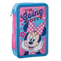 Minnie Mouse Dotty Pernica sa priborom Double Decker - Kliknite za detalje