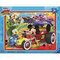 Ravensburger Puzle  - Disney Mickey Mouse and The Roadster Racers 06159 - Kliknite za detalje