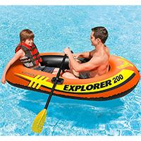 Intex čamac Explorer 200 Set sa veslima i pumpom