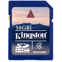 Kingston SDHC memorijska kartica SD4/16GB - Kliknite za detalje