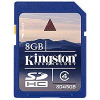 Kingston SDHC memorijska kartica SD4/8GB - Kliknite za detalje