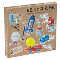 RE-CYCLE-ME Turning Garbage Into Science Large Box Craft Project - Kreativni projekat EKSPERIMENTI 21692 - Kliknite za detalje