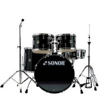 Sonor Force507 Studio Black 20in - Set Bubnjeva - Kliknite za detalje