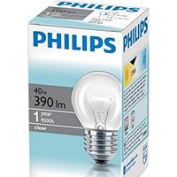 Philips standardna sijalica E27 40W PS027