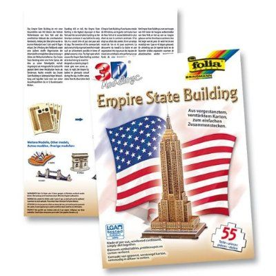 Folia maketa Empire State Building 34004