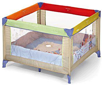 Hauck krevetac Dream Square Circus 606889