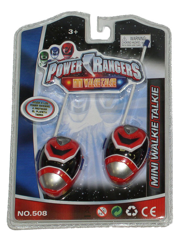 Toki-voki Power Rangers 06-551