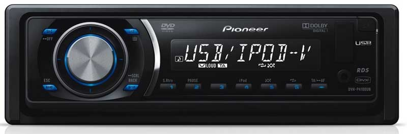 Pioneer DVH-P4100 DVD player
