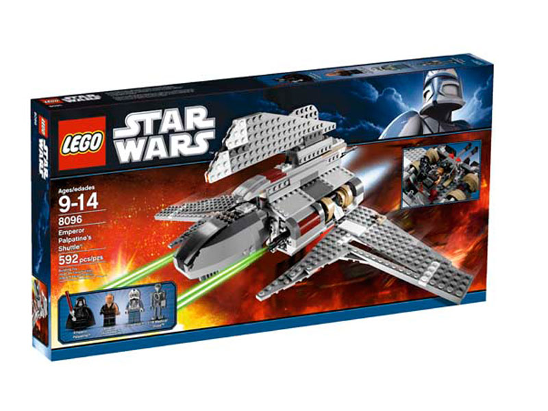 Lego Emperor Palpatine-s Shuttle LE8096