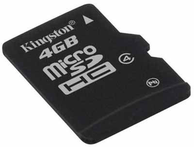 Kingston Micro SD kartica 4 GB