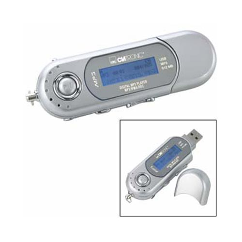 Clatronic MMS 678 - USB 2 - MP3 Player - 4 u 1 - 512 MB