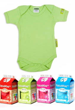 FreshWear Baby body Lucky Lime vel.74/80 160008