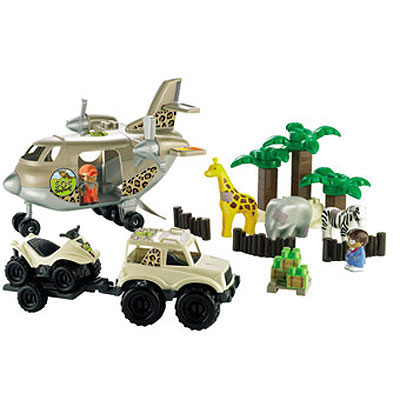 Ecoiffier Safari Set SM003146
